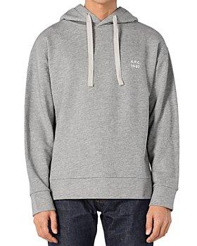 A.P.C. - Hoodie Jason Hooded Sweatshirt
