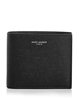 Saint Laurent - East West Leather Bi Fold Wallet