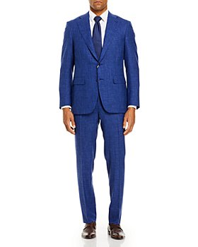 Canali - Capri Melange Solid Slim Fit Suit
