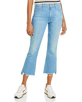 MOTHER - The Insider Crop Step Ankle Flare Jeans in Hold My Hand