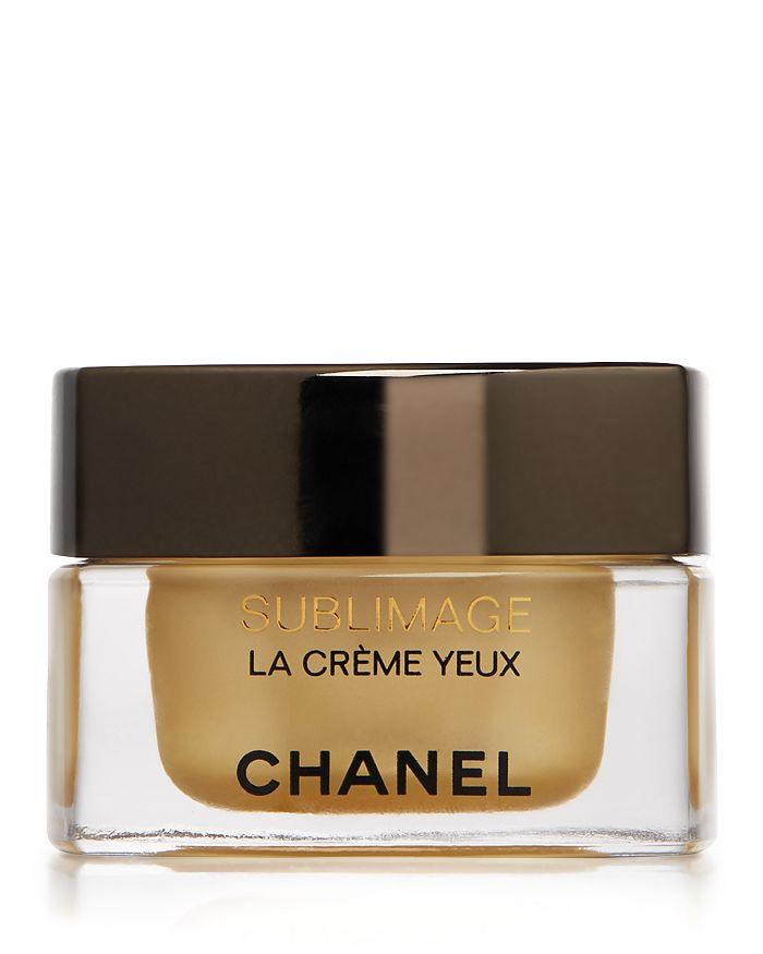 CHANEL - SUBLIMAGE LA CRÈME YEUX Ultimate Regeneration Eye Cream 0.5 oz.
