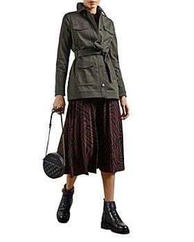 Ted Baker - Printed Pleated Skirt