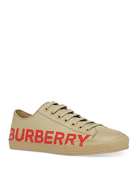 Burberry - Women's Larkhall Low Top Lace Up Sneakers