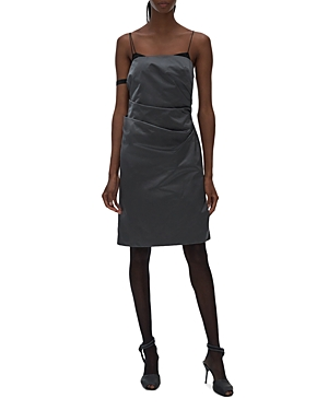 Helmut Lang Satin Mini Dress