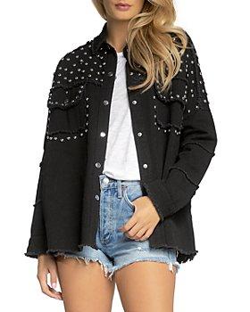 Elan - Studded Cotton Jacket