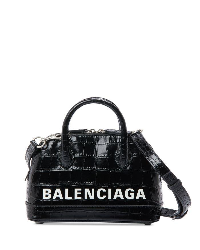 Balenciaga Ville XXS Embossed Leather Crossbody   | Bloomingdale's