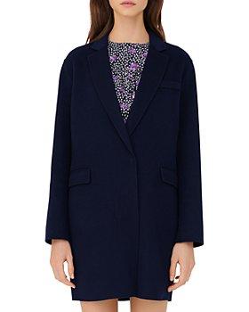 Maje - Galami Wool Blend Coat