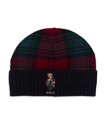 Polo Ralph Lauren - Toggle Bear Plaid Beanie
