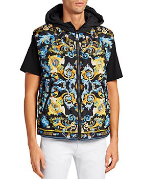 Versace Jeans Couture - Tuileries Print Reversible Hooded Vest