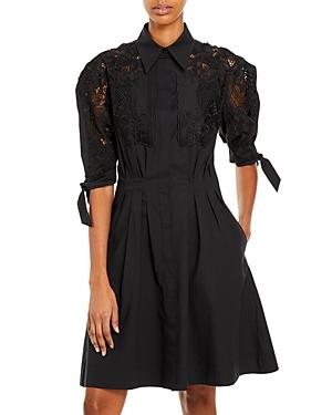 Alberta Ferretti Embroidered Shirt Dress-Women