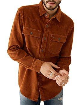 True Religion - Cotton Corduroy Regular Fit Western Shirt