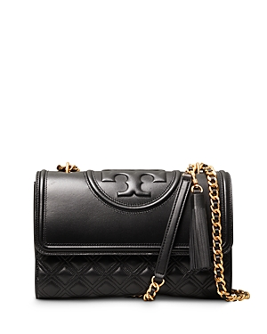 Tory Burch Fleming Medium Quilted Leather Convertible Shoulder Bag