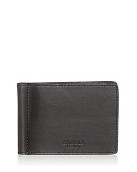 Shinola - Leather Bifold Money Clip Card Case