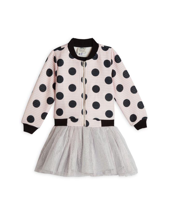 Pippa & Julie Disney x Pippa & Julie Minnie Polka Dot Jacket, Top & Tutu Skirt Set - Baby    Bloomingdale's