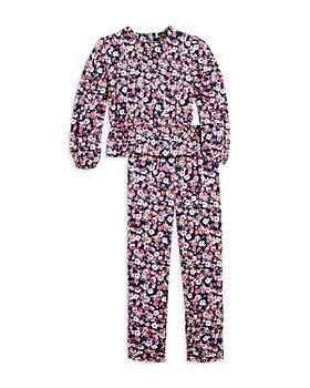 AQUA - Girls' Floral Print Top & Pants, Big Kid - 100% Exclusive