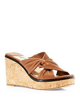 Jimmy Choo - Women's Narisa 90 Platform Wedge Sandals