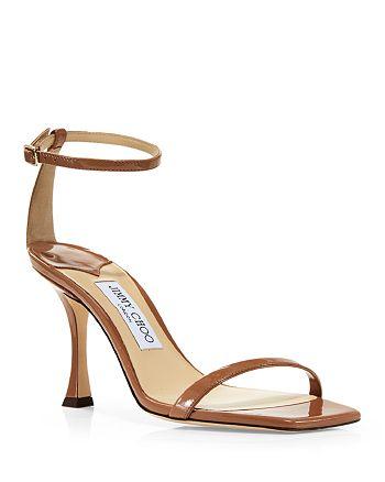 Jimmy Choo - Women's Marin 90 High Heel Square Toe Sandals