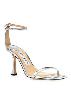 Jimmy Choo Women's Marin 90 High Heel Square Toe Sandals