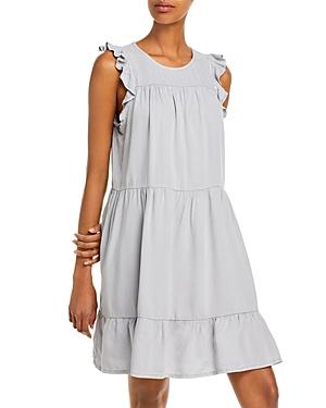 Ruffle Sleeve Tiered Dress