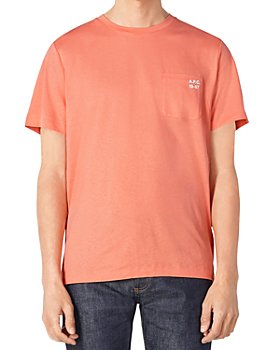 A.P.C. - Andrew Cotton Logo Graphic Pocket Tee