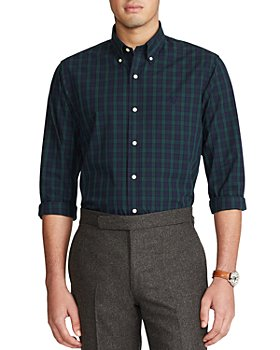 Polo Ralph Lauren - Button Down Plaid Classic Fit Shirt
