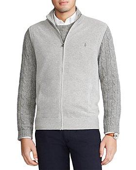 Polo Ralph Lauren - Pima Cotton Birdeye Sleeveless Sweater