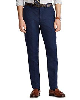 Polo Ralph Lauren - Newport Linen-Blend Straight Fit Pants
