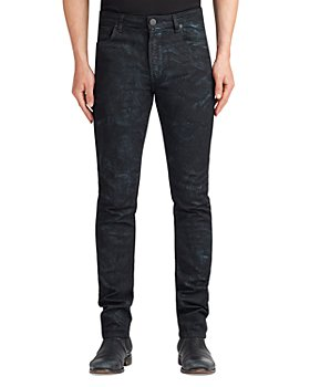 MONFRÈRE - Greyson Coated Skinny Fit Jeans in Pluto Galaxy