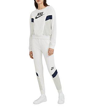 Nike - Nike Sportswear Heritage Crewneck Sweatshirt & Jogger Pants