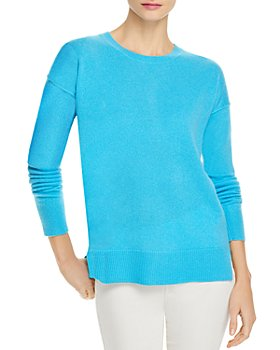 AQUA - High Low Cashmere Sweater - 100% Exclusive