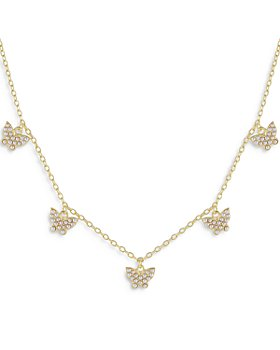 """Adinas Jewels - Butterfly Charm Necklace, 15"""""""