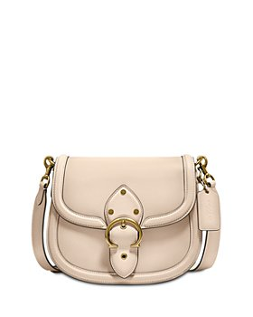 COACH - Beat Mini Leather Saddle Crossbody