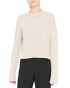 Theory - Cropped Cashmere Sweater
