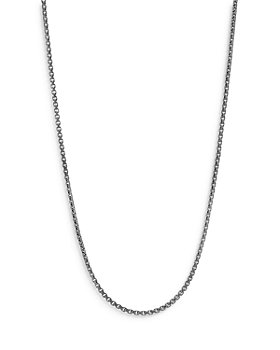 JOHN HARDY - Sterling Silver Classic Box Chain Necklace, 22""