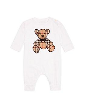 Burberry - Unisex Thomas Bear Appliqué Playsuit - Baby