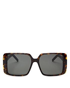 Saint Laurent - Women's Square Sunglasses, 56mm