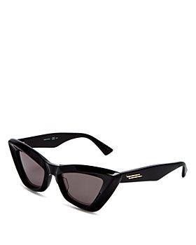 Bottega Veneta - Women's Cat Eye Sunglasses, 53mm
