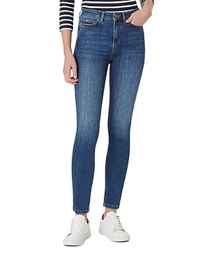 Gia Sculpting Skinny Jeans in Mid Wash