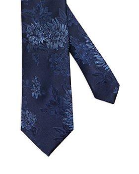 Ted Baker - Silk Tonal Floral Jacquard Tie