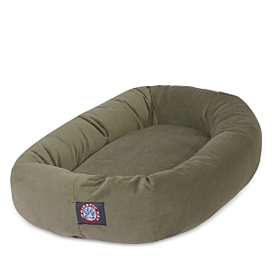Majestic Pet Suede Bagel Dog Bed, Large