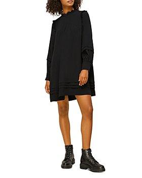 Whistles - Pintuck Mini Dress