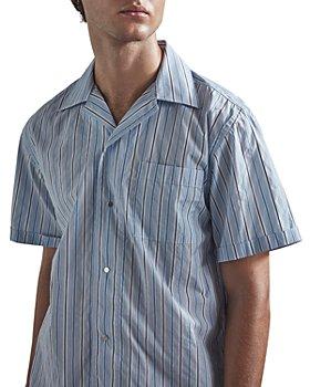 NN07 - Oliver Striped Pocket Shirt