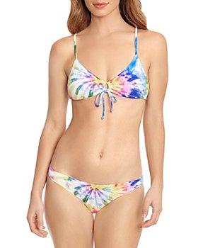 Polo Ralph Lauren - Tie Dyed Triangle Bikini Top & Tie Dyed Devin Bikini Bottom