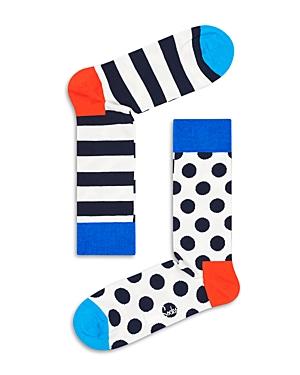 Stripe Dot Socks