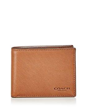 COACH - Slim Leather Bifold Wallet