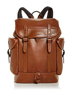 COACH - Hitch Leather Backpack