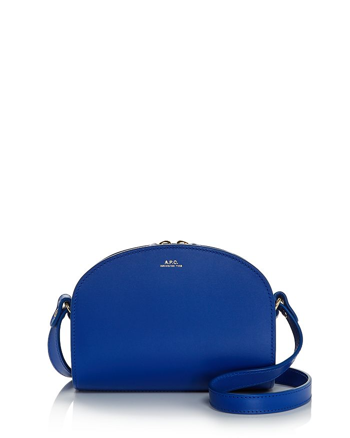 A.P.C. - Demi Lune Mini Leather Crossbody