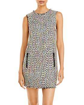 Armani - Multi Colored Tweed Dress