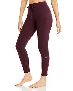 Alo Yoga - Checkpoint Drawstring Leggings