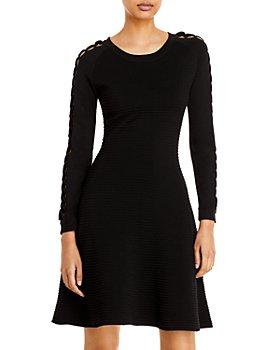 Armani - Ottoman Open Cable Sleeve Dress